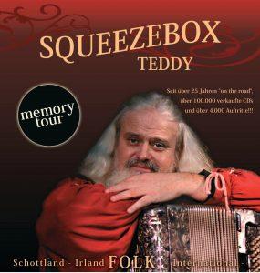 Squeezebox Teddy