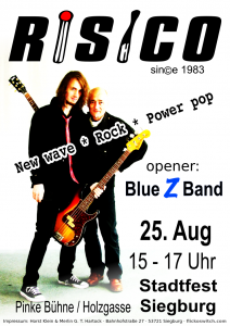 Blue Z Band - Risico