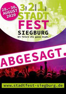 Stadtfest Siegburg 2020 ist abgesagt